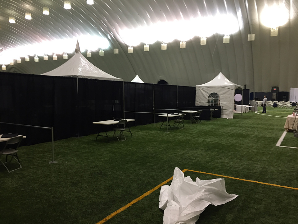 Pipe and Drape (6) & Pipe and Drape - Belleville Tent Table and Chair Rentals - Main ...