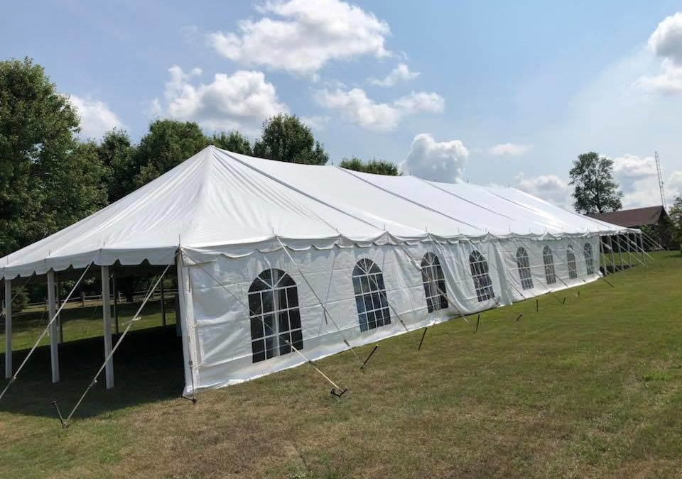 TENT RENTALS IN PRINCE EDWARD COUNTY