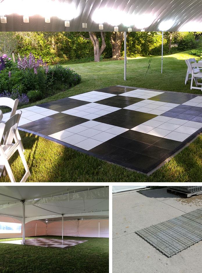 Portable Floor rental