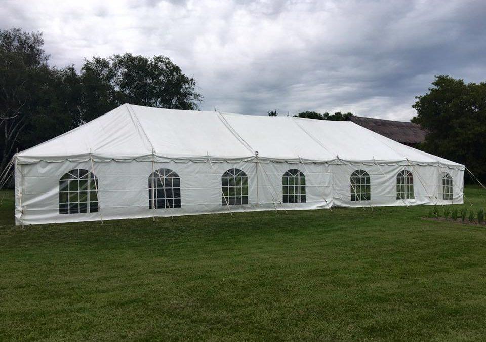 30×75 pole tent