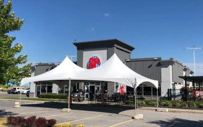 Tents offer extra space at local businesses