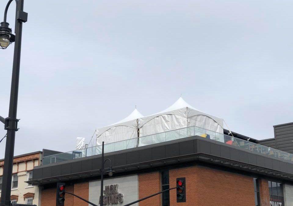 Rooftop 15×30 tent